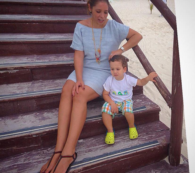 Anita Hernandez Gucci para Playa en Cancun