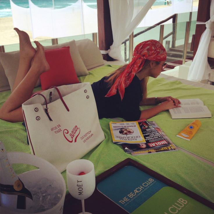 Bolsa Cabas Vuitton Cancun