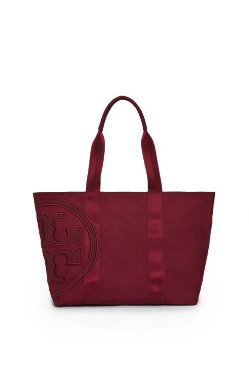 Nylon-Red-Tote