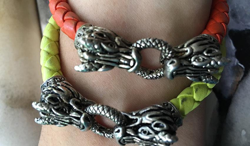 pulsera de dragones Isa Maraf