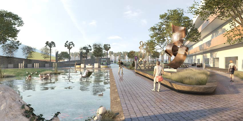 area-de-exposiciones-lago-modern-academy-cancun